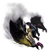 Mh4u chaotic gore magala render 001